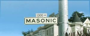 MasonicStreetSign